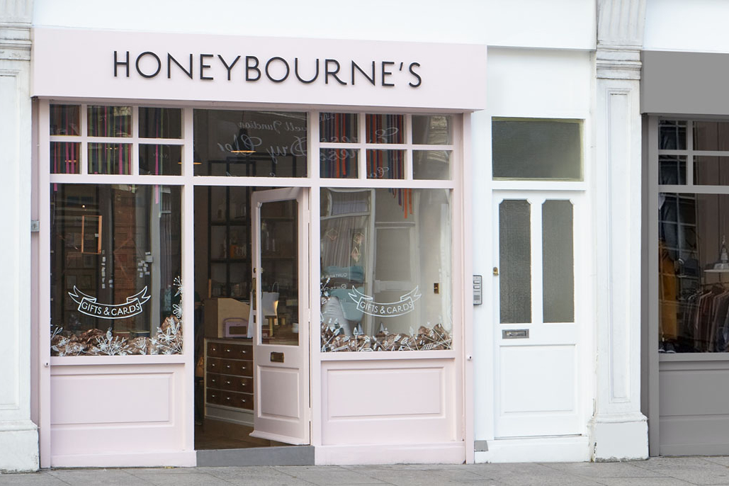 Frontage - Honeybourne's - RYE Design