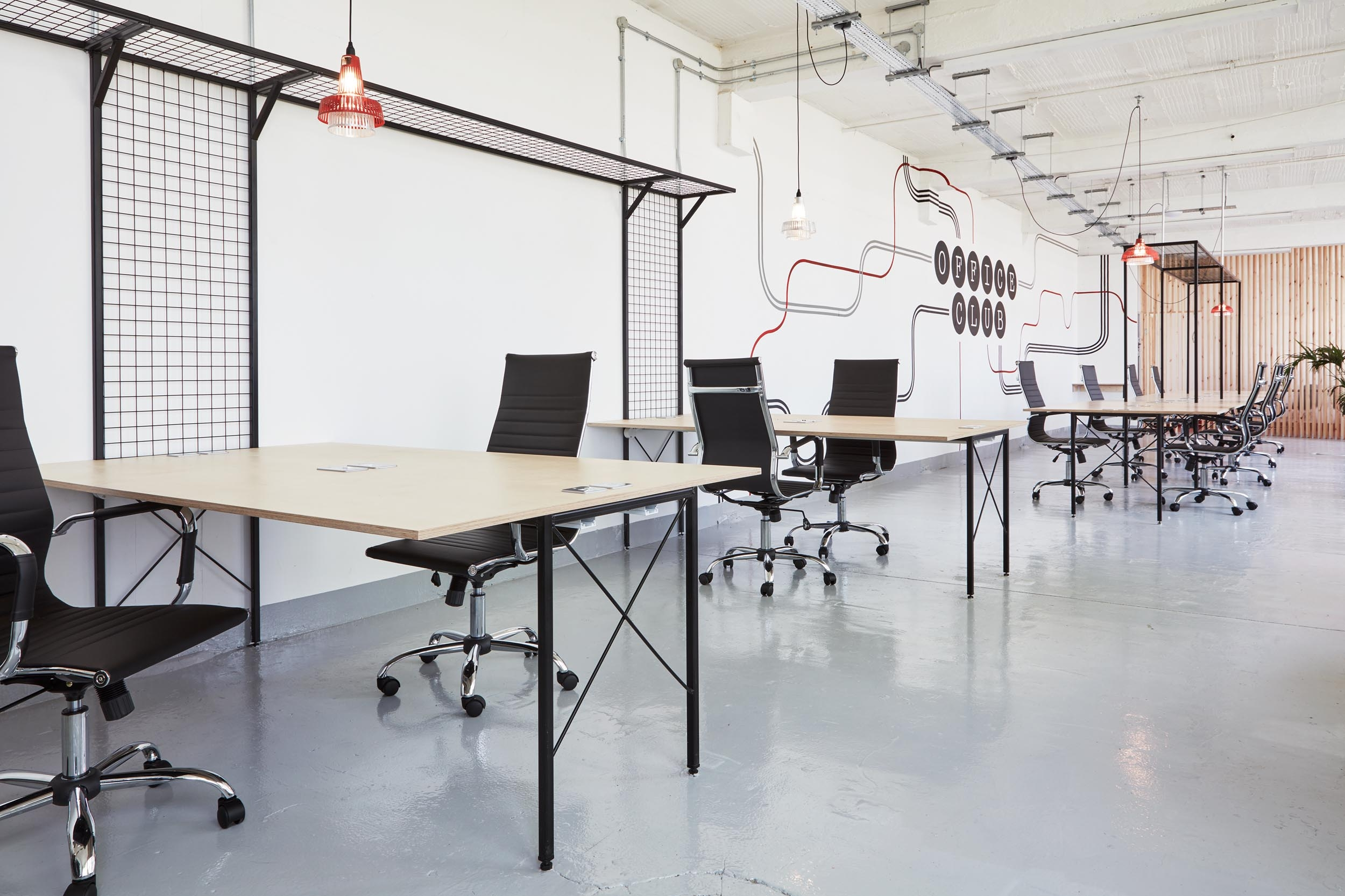 Desks - Office Club - RYE Design
