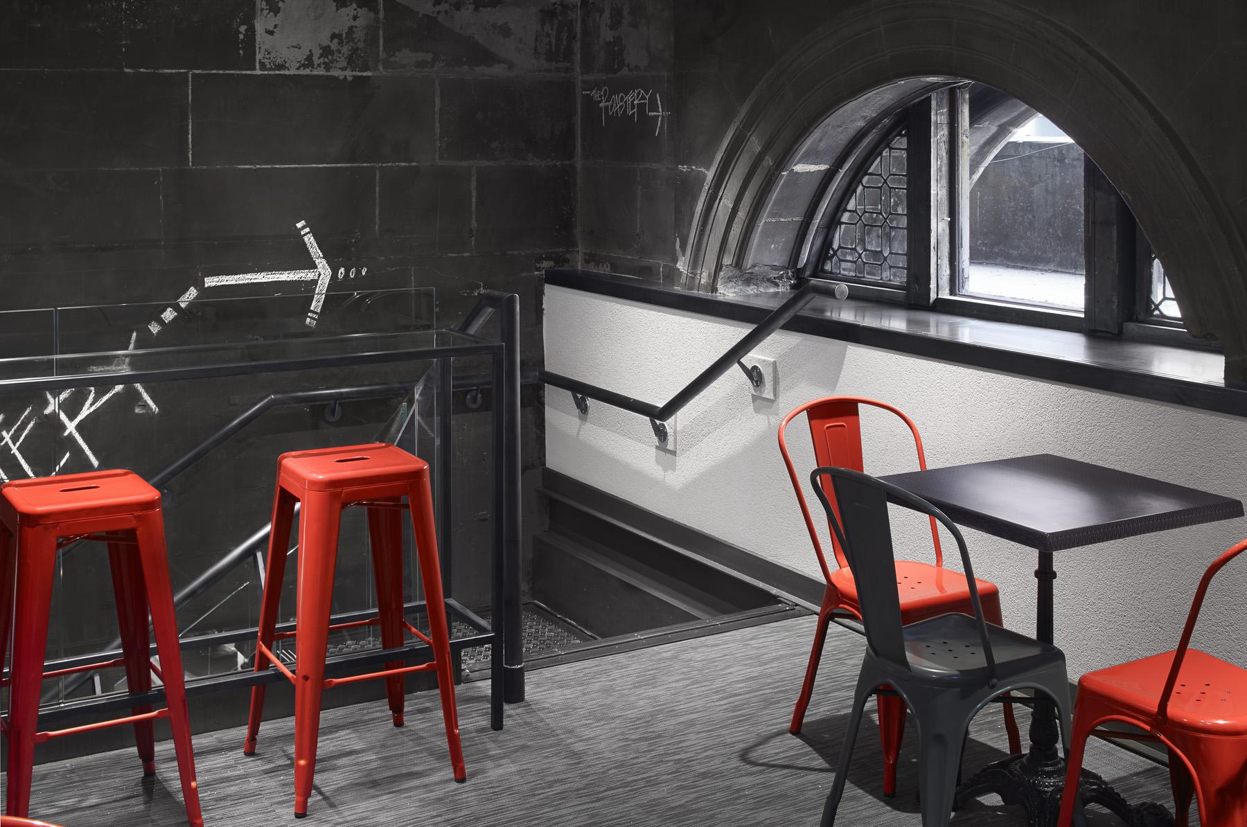 Seating - GSC Glasgow - RYE Design