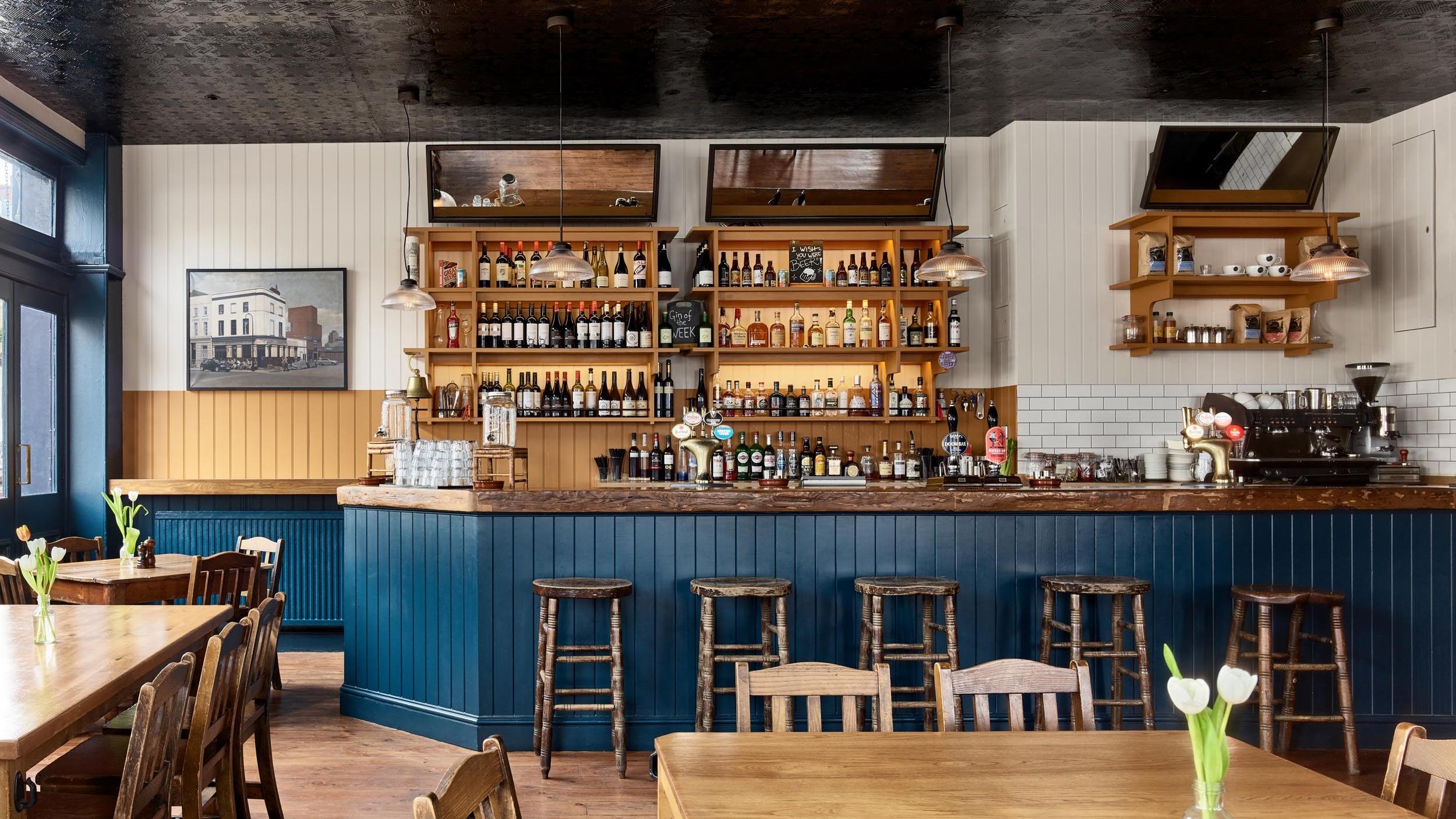 Bar Front - The Lansdowne - RYE Design