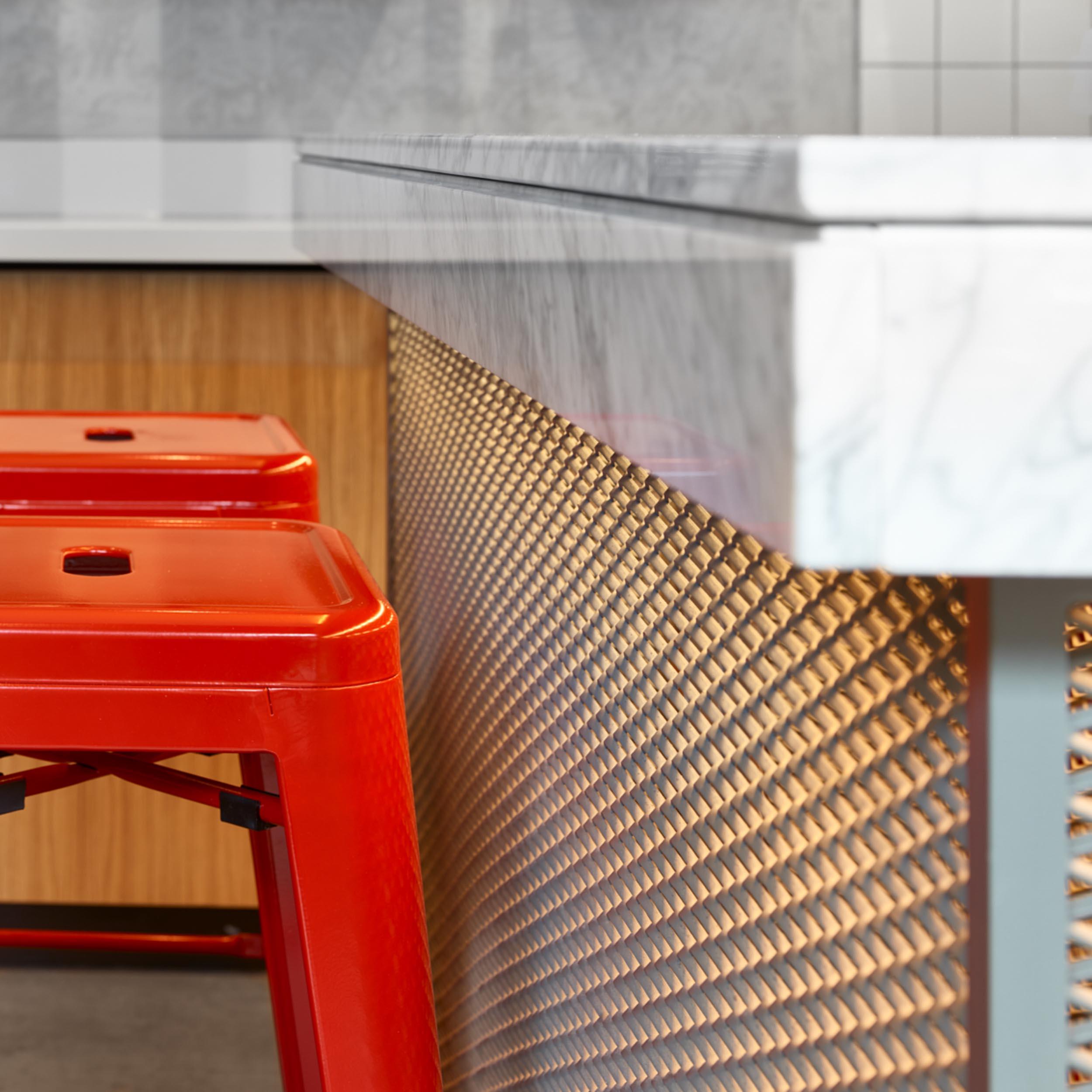 Counter Detail - Gordon St Coffee - RYE Design
