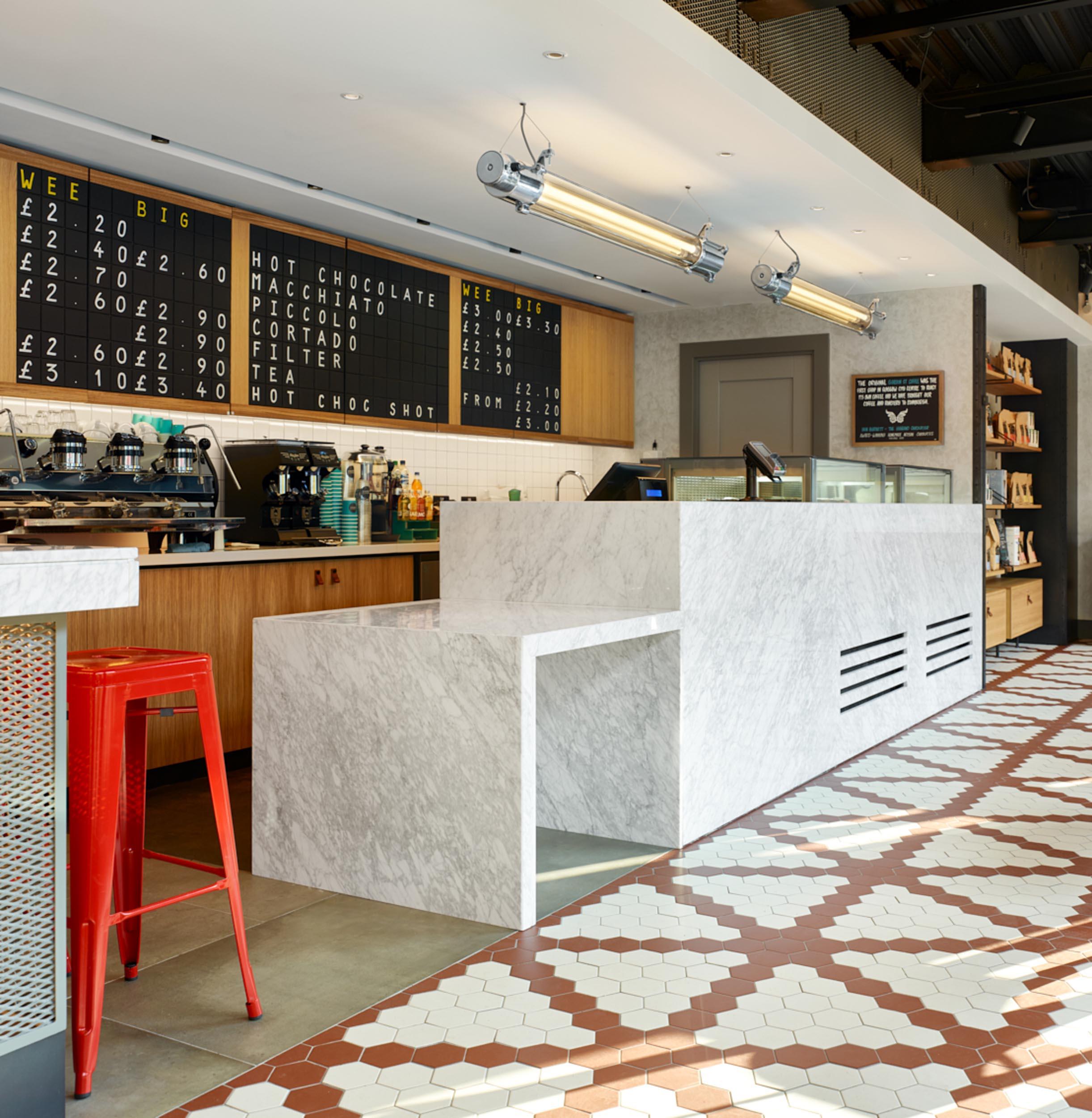 Counter - Gordon St Coffee - RYE Design