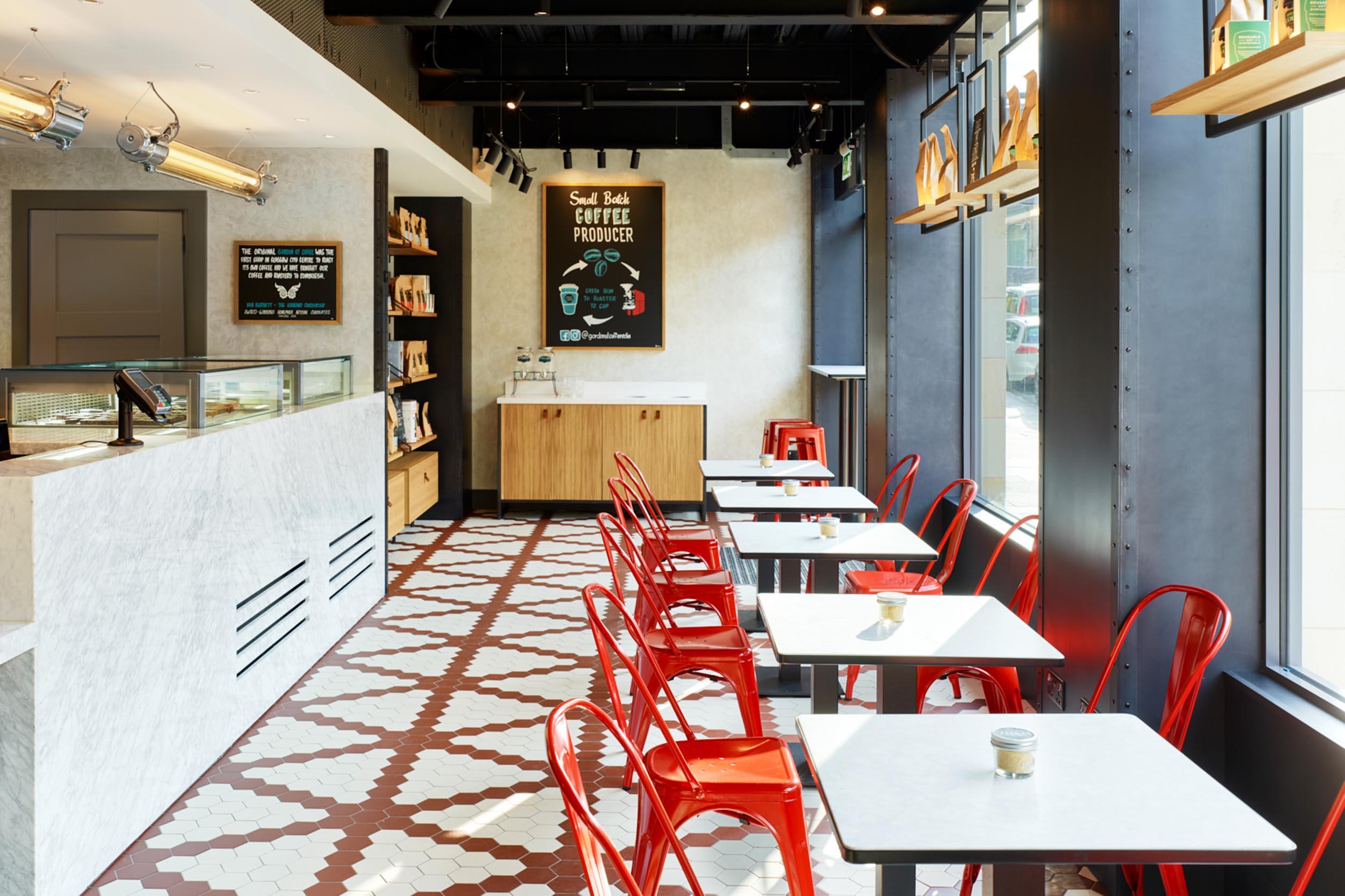 Seating - Gordon St Coffee - RYE Design