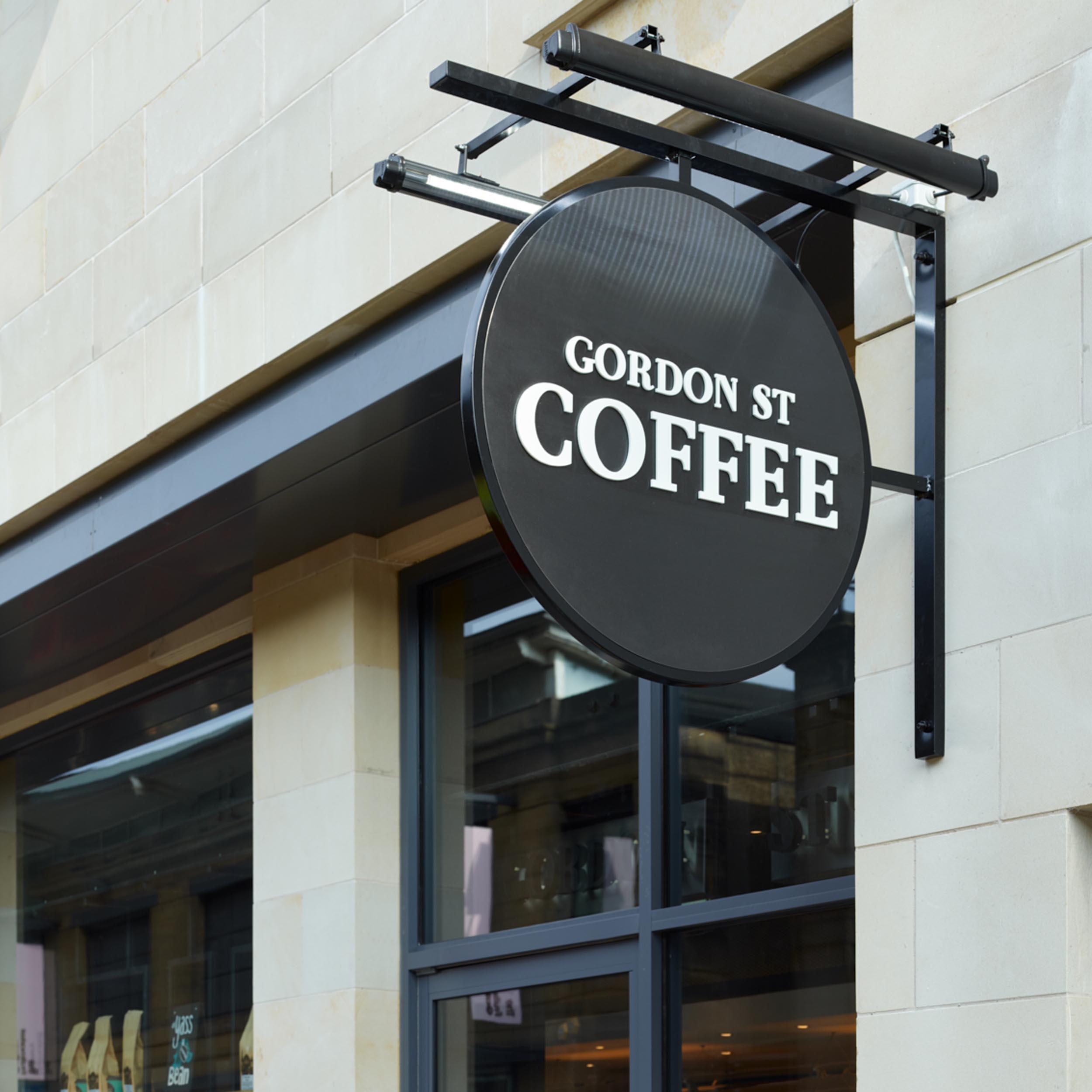 Sign Detail - Gordon St Coffee - RYE Design