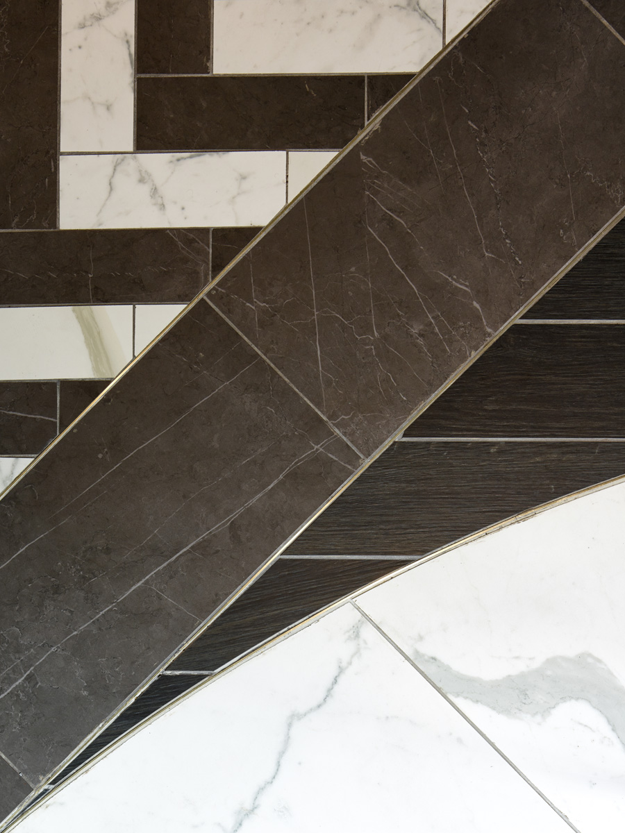 Floor Detail - Champagne Bar - RYE Design