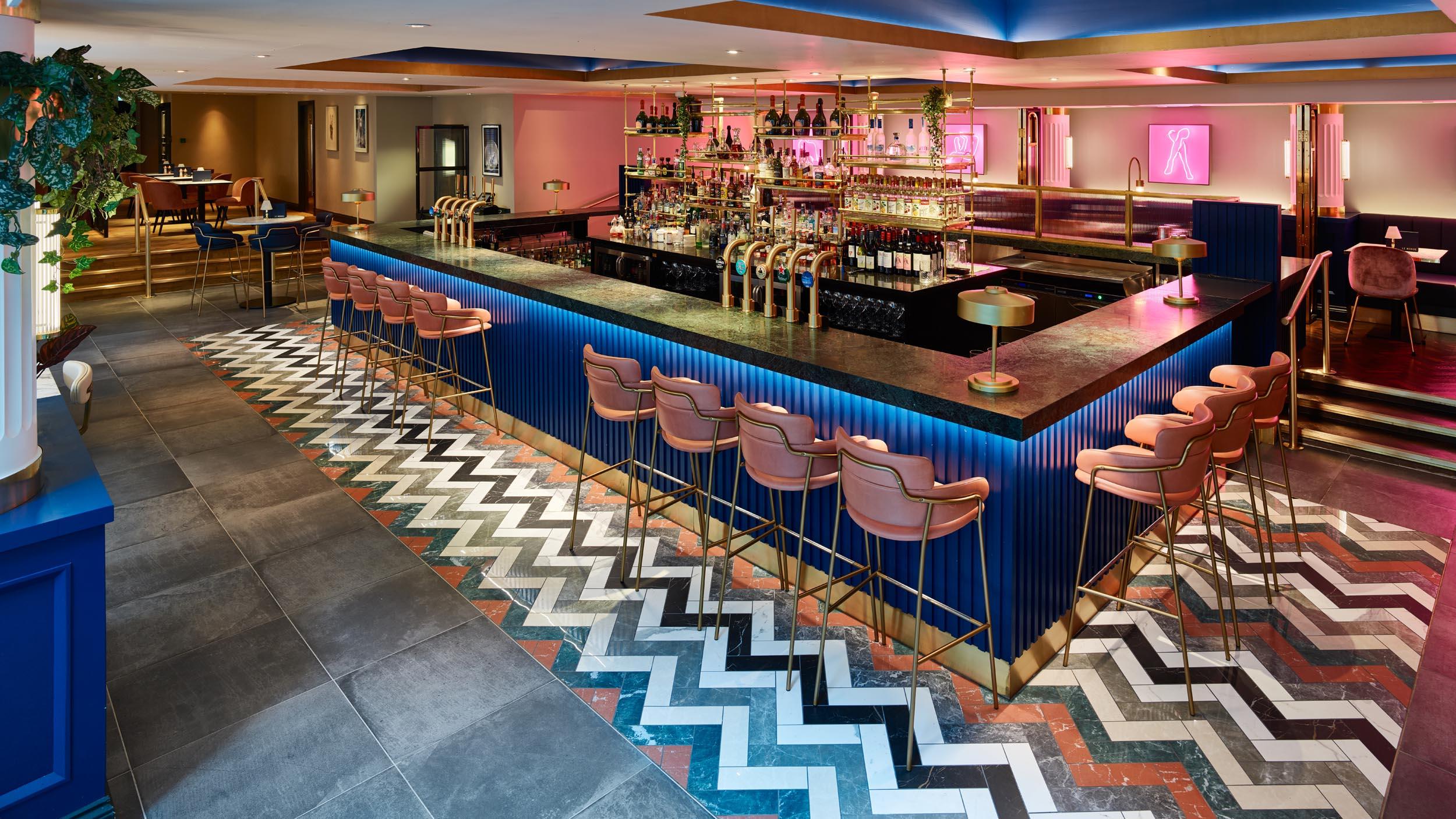 Bar - Le Monde Restaurant - RYE Design