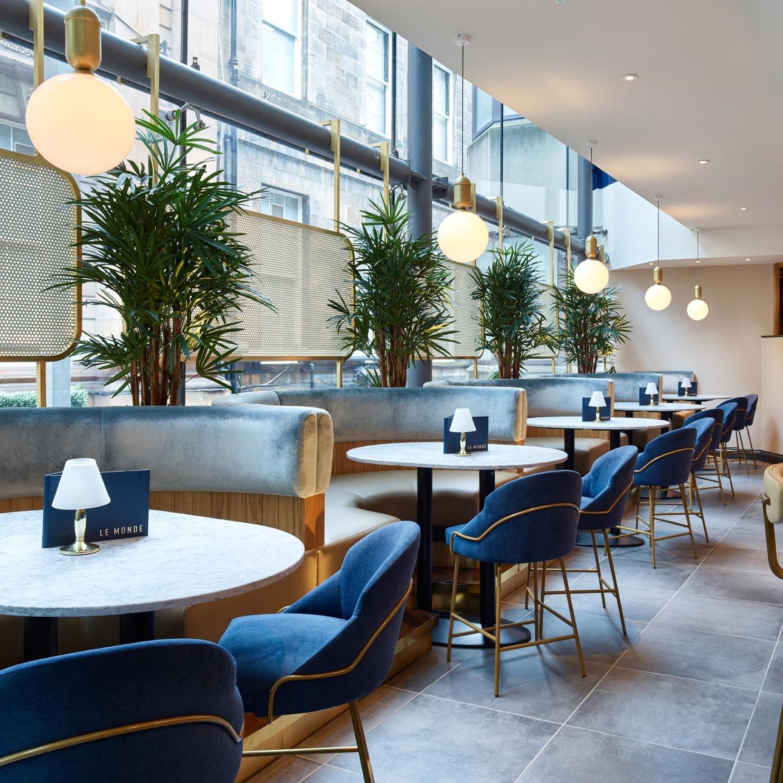 Booths - Le Monde Restaurant - RYE Design