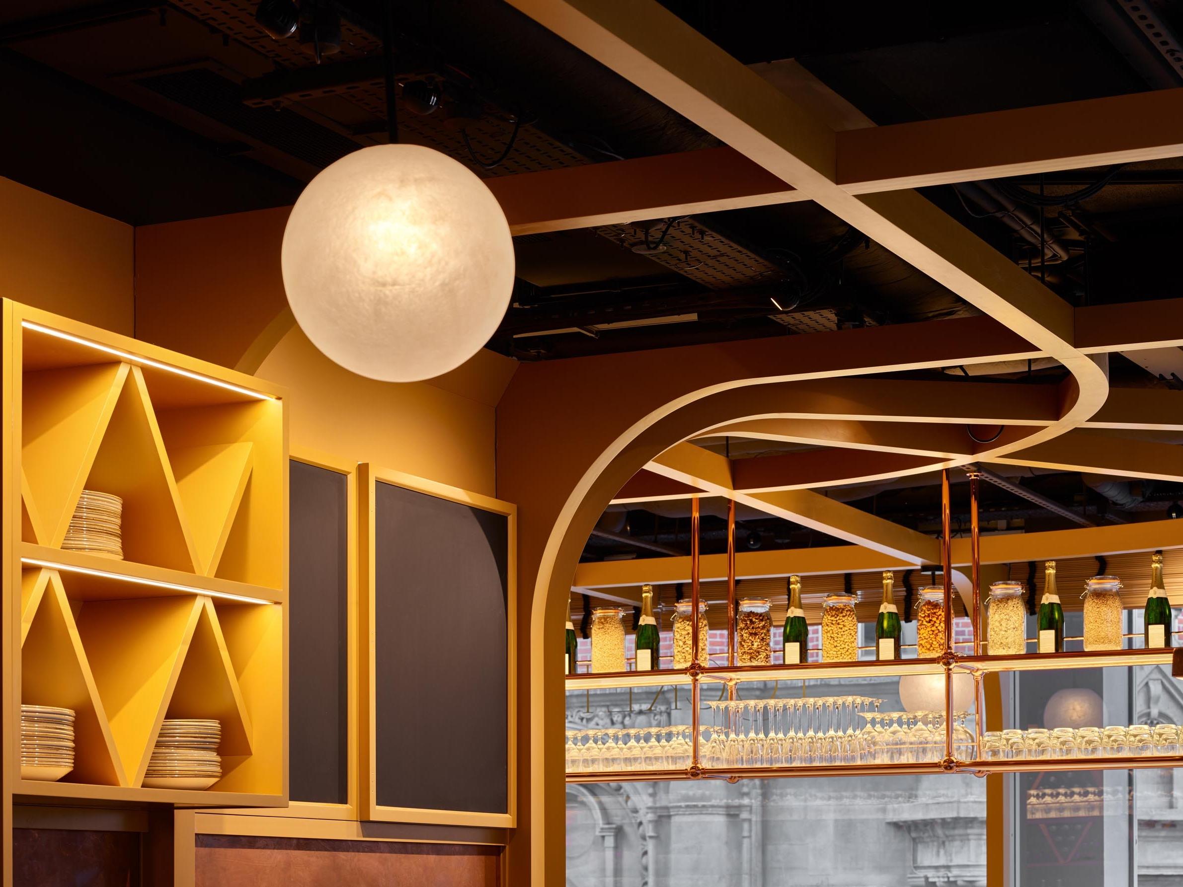 Ceiling - Locket's - RYE Design
